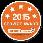 Service Award 2015 WOMO