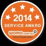WOMO Service Award 2014