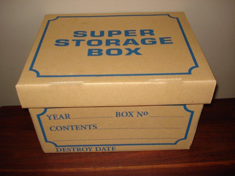 Archive Storage Boxes
