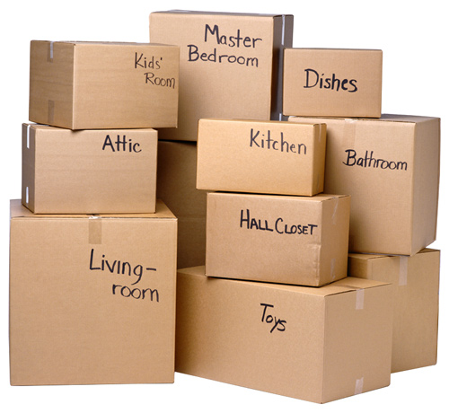 Packing boxes for moving brisbane 3 4 bedroom houses for Average cost to move a 4 bedroom house