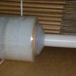 Bundling Film plus Dispenser 100mm x 300m x 25um